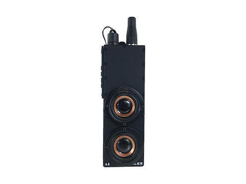 WTF PRC-148 Walkies Talkie Style Bluetooth MP3 Speaker (BK)
