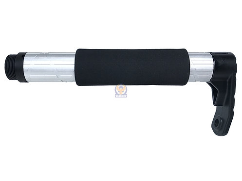APS TRON Stock Tube for M4/M16 AEG (Silver)