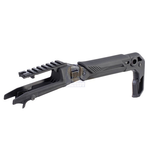 Action Army AAP01 U01-007 Folding Stock  Black