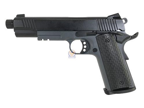 Army R28-2 DarkStorm TG-2 1911 MEU GBB Pistol GBB (GY 2 Tone)