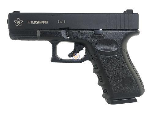 FLW x KJ G19 GBB Pistol JSDF Marking Custom Version