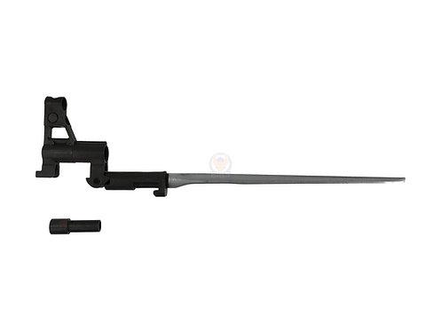 Flintlock Custom Workshop PLA Type 56 Bayonet For Marui AK47 AEG (Steel Metal)