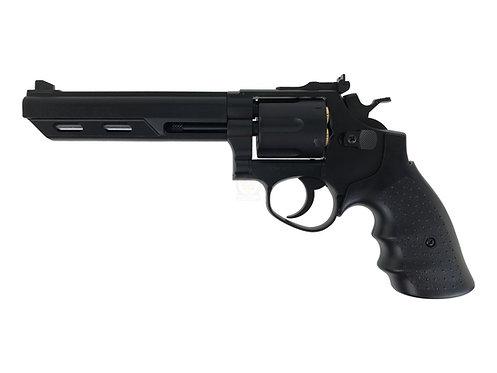 "HFC HG-133 6"" Barrel Gas Revolver (Black)"