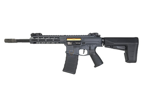 Classic Army DT-4 Double Barrel AR AEG Airsoft Rifle (Grey)