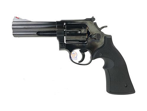 Marushin S&W M586/686 6mm Windy (Shinny) Black Gas Revolver