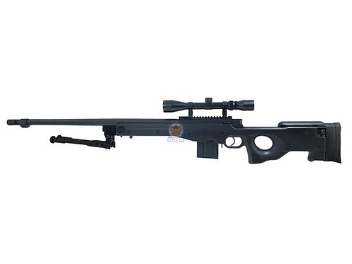 WELL MB-4402D AWM L96 Bolt Action Sniper Rifle (BK) Full package