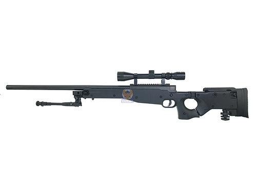 WELL MB-08 AW.338 L96 AWP Bolt Action Sniper Rifle (BK) Full package