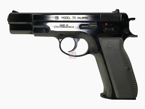Marushin CZ 75 Blowback Shell Ejecting Airsoft Pistol (SHINNY Ver BK)