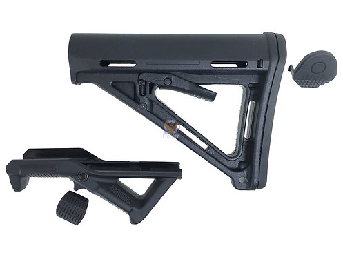 FLW Angled Foregrip and Tactical Stock (BK)