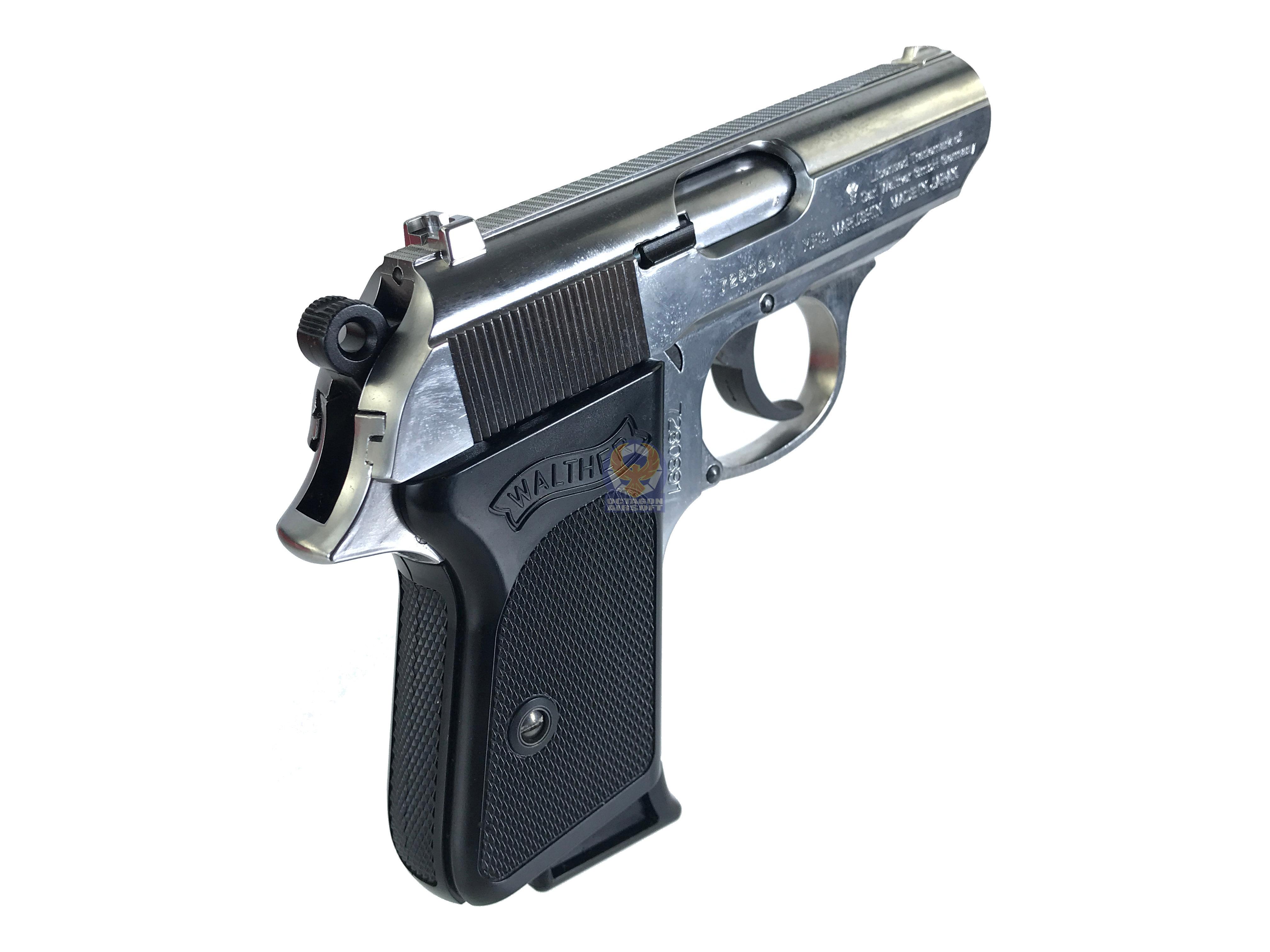 Marushin Walther PPK Model Gun (SV) | Octagon Airsoft