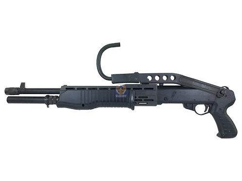 Marui SPAS 12 Air cocking Shotgun w/ Phoenix SPAS 12 Folding Stock