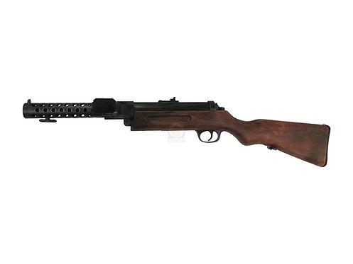 Flintlock Custom Workshop MP18 Bergmann SMG AEG (REAL WOOD) Weathered Version