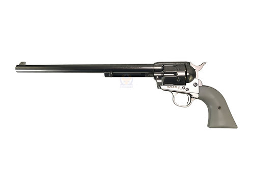 FCW x King Arms SAA .45 Peacemaker Airsoft Gas Revolver L 11inches -Silver