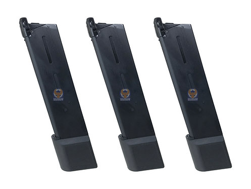 Army 28rd Extended QuickDraw Mag For M1911 GBB Series (3 pieces set)