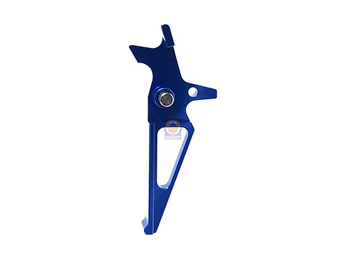 Speed Trigger Straight for AEG M4 M16 airsoft (Blue)