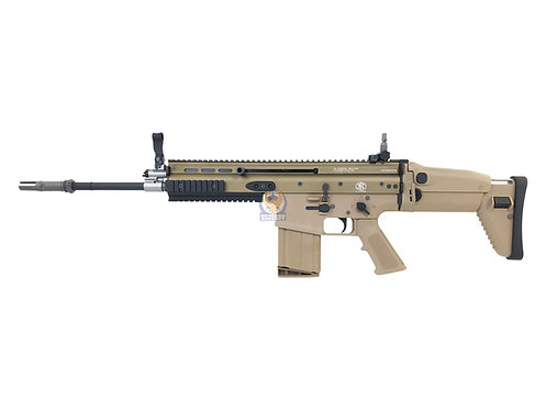 Cybergun / VFC FN Herstal Licensed FN SCAR-H Gas Blow Back Airsoft Rifle (Tan).