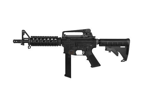 FCW x WE M4 CQR RIS PCC 9MM Magazine Style GBB Rifle Custom marking