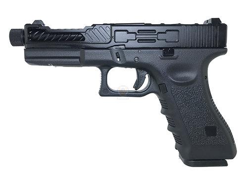 Army R17-4 Kirgin Style G17 GBB Pistol (BK)