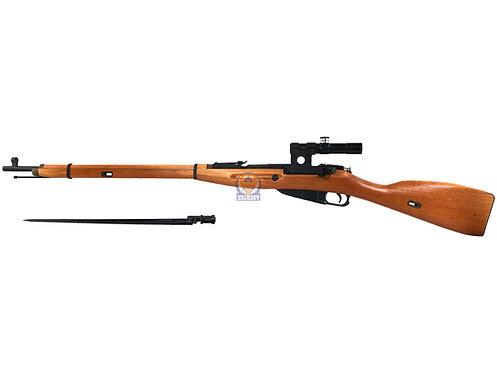 PPS Mosin Nagant Model 1891/30 Gas Sniper Rifle with PU Scope / Bayonet (Orange)