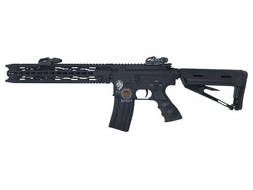SRC GEB-1722TM MAMBA-M EBB SR4 M4 Airsoft Electric Rifle (Black)