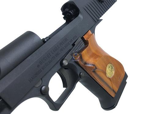 Cybergun / WE Desert Eagle .50AE GBBP With Kimpoi Wood Grip BK