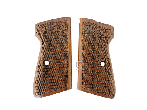 Kimpoi Maruzen PPKS Gas Pistol Walther Style Real Wood Grip