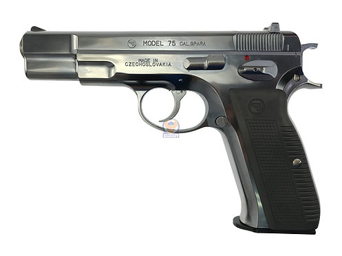 Marushin CZ 75 Blowback Shell Ejecting Airsoft Pistol (ABS Ver SV)