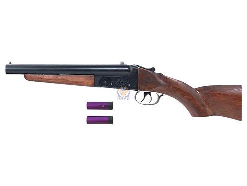 Double Barrel Type D Gas Shotgun SAW Custom