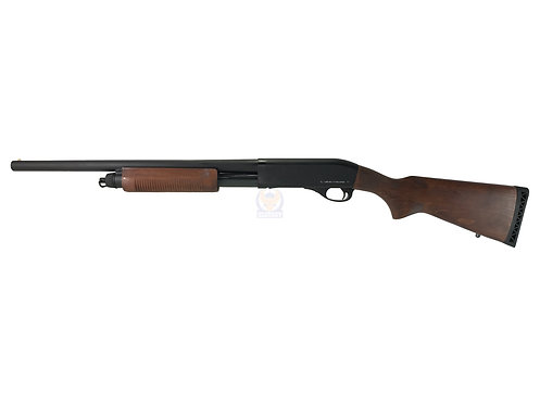 FCW x APS CAM M870 Police Wood MKIII Airsoft Shotgun