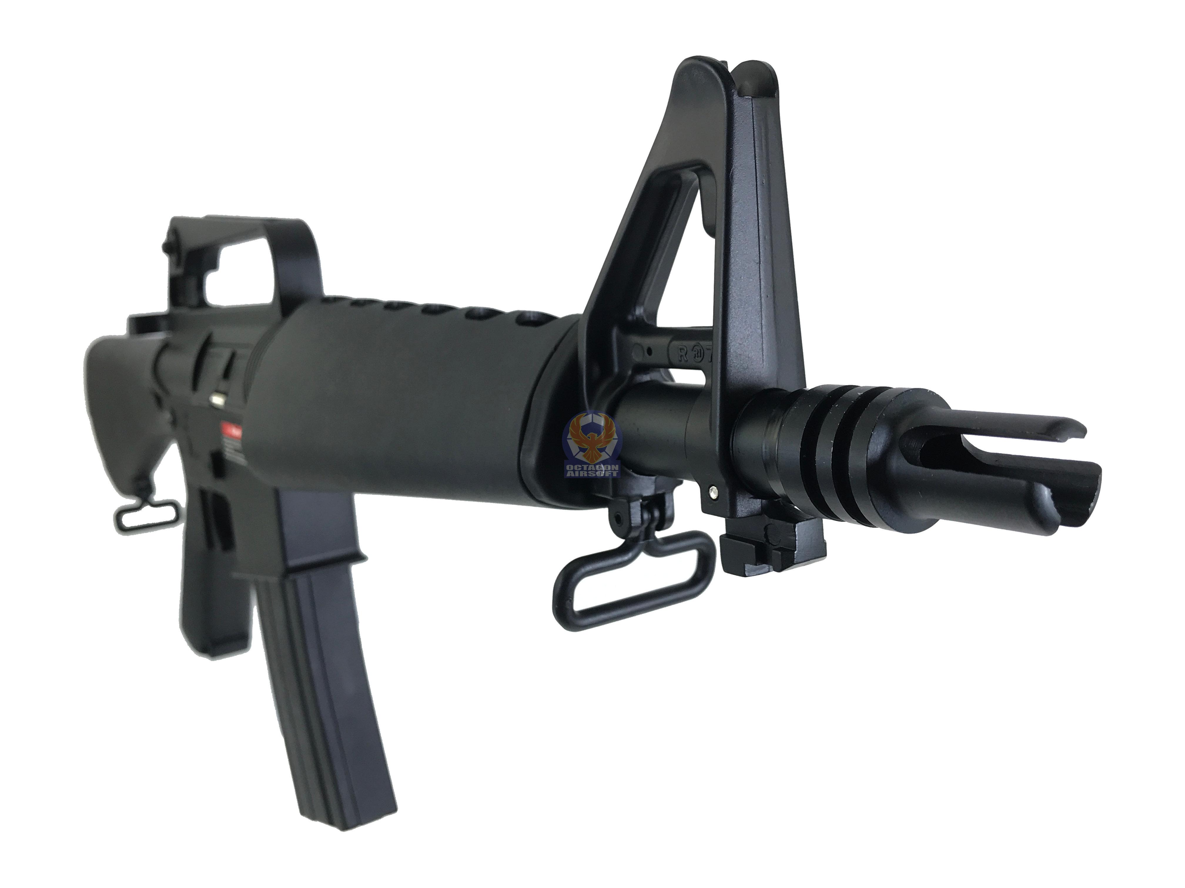 Flintlock Workshop CAR-15 Submachine Gun Custom Airsoft AEG Rifle | Octagon  Airsoft