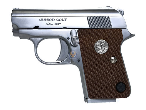FCW x WE Full Metal Full Marking CT25 (Colt.25) GBB  Pistol SV