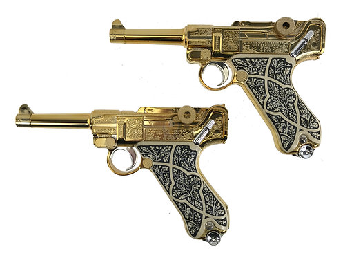 Tokyo Marui Ashford Gold Lugers Resident Evil Biohazard