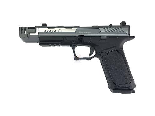 EMG x Strike Industry Licensed ARK G17 GBB Pistol SV/GY 2 Tone Slide Com Ver.