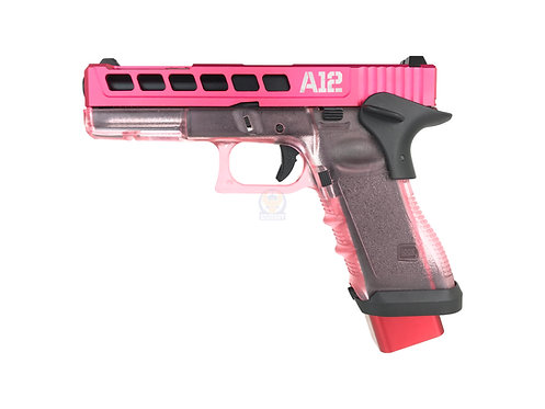 FCW Char's Style Zeon G17 GBB with Pink Transparent Frame