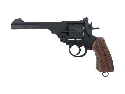 FLW Webley MKVI Break Top CO2 Revolver Japan Version (Wood Grip)