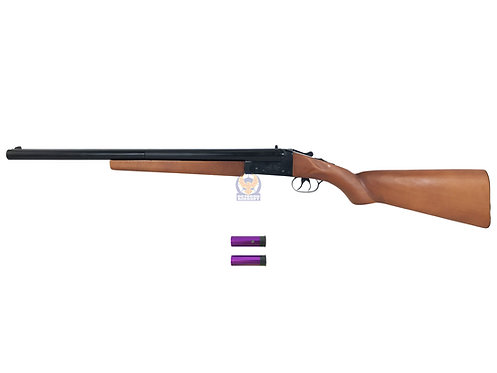 Double Barrel Type A Gas Shotgun Long Wood Custom