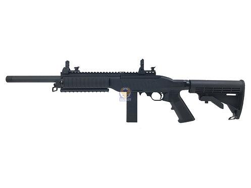KJ Works KC-02 Tactical Carbine Gas Blow Black Rifle ( KC02 V2 )