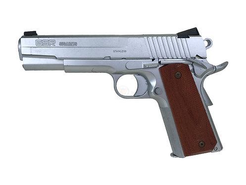 Western Arms SIG GSR1911 Silver GBB Pistol Limited Edition