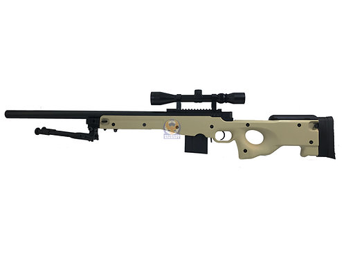 WELL MB-4401D AWS L96 Bolt Action Sniper Rifle (BK) Full package