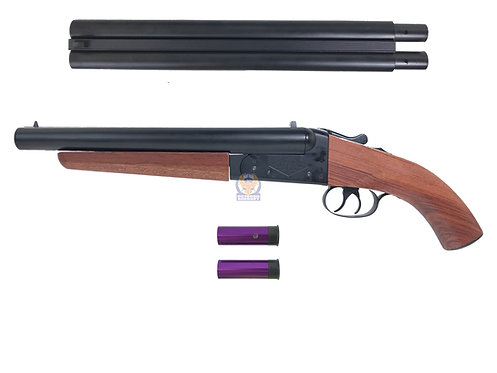 Double Barrel Type H PUBG Sawed Off Gas Shotgun Long with extended barrel
