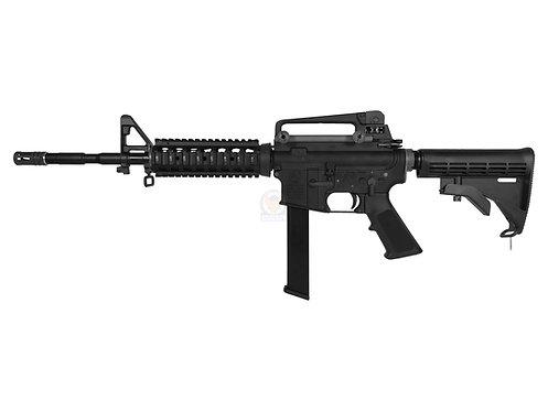 FCW x WE M4 RIS PCC 9MM Magazine Style GBB Rifle Custom marking