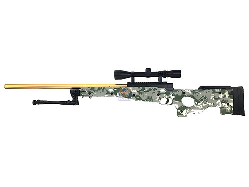 Well MB01 L96 Sniper Rifle w/ Scope & Bipod (Gold Outer)
