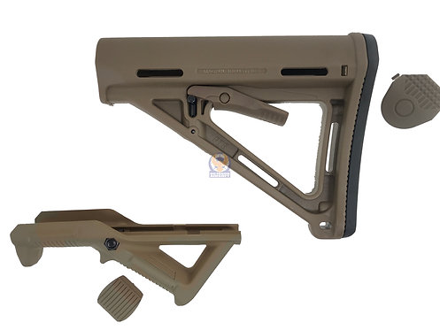 FLW Angled Foregrip and Tactical Stock (DE)