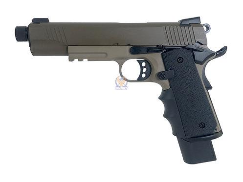 Army R32-1 NightStorm 1911 MEU GBB Pistol GBB (DE 2 Tone)