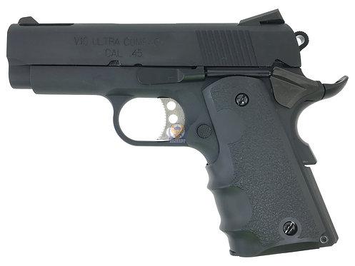 FLW x AW / WE NE1002 v10 ultra compact 1911 GBB Airsoft Pistol (Black)
