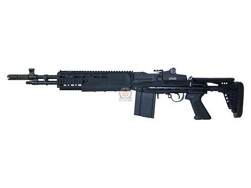 Classic Army S007M PUBG MK14 MOD 0 M14 EBR Scout AEG (Black)