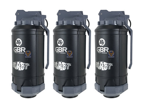GBR Airsoft Grenade 3 pieces set (Black)