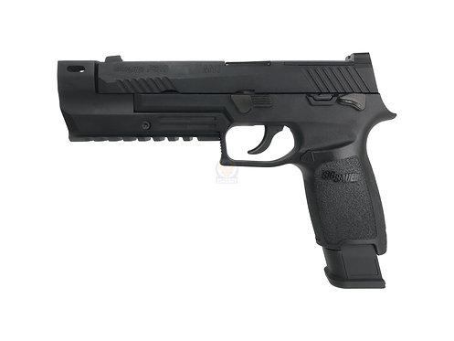 Flintlock Custom Workshop P320 M17 GBB Pistol (BK) w/ Compensator Custom