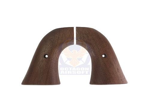 Marushin SAA Gas Revolvers Real Wood Grip