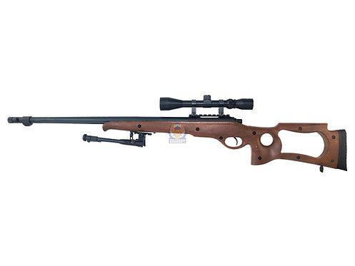 Well MB10 VSR10 Spring Warrior Sniper Rifle Imitation Wood Ver.